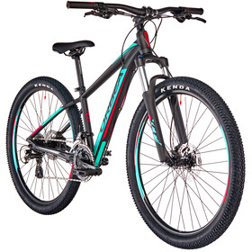 "ORBEA MX XS 50 27,5"" Niños, black-turquoise-red"